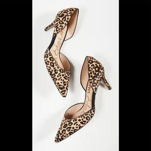 Sam Edelman Jaina Cheetah Print Heels